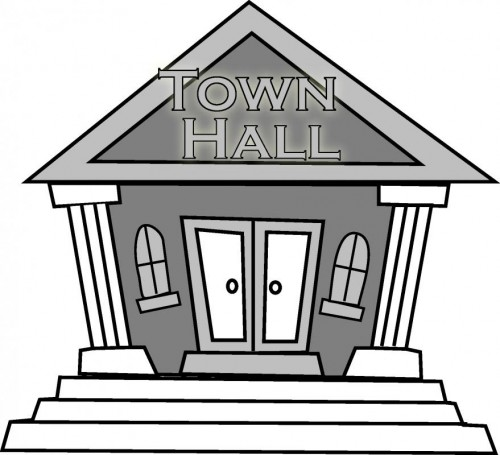 City hall clip art.