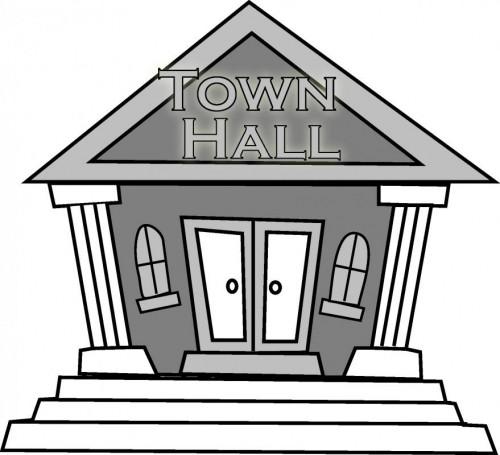 City hall clip art.