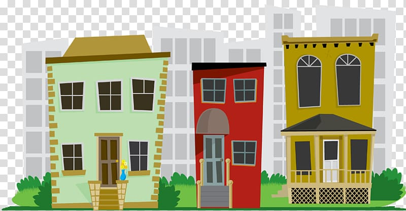 Cities: Skylines House Neighbourhood , City transparent.