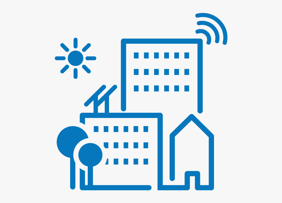 Smart City Icon Png , Free Transparent Clipart.