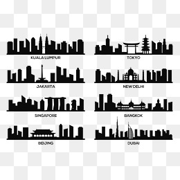 City Icon PNG Images.