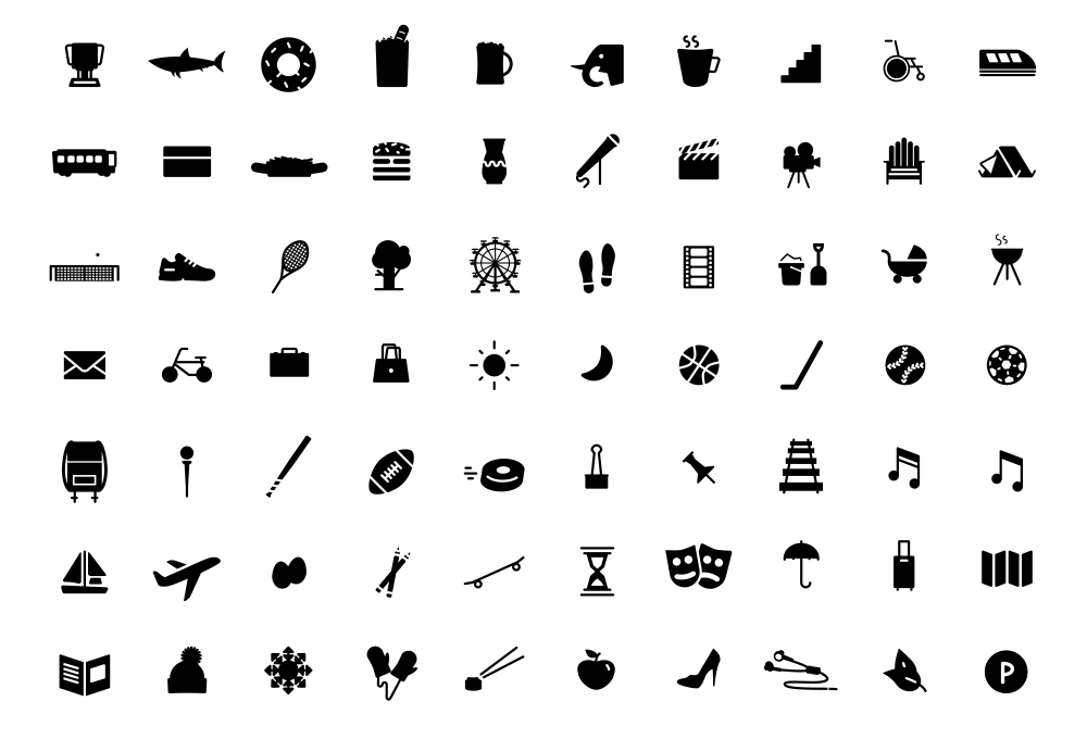140+ Free Icons.