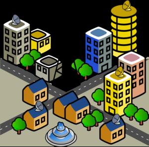 City Clip Art at Clker.com.
