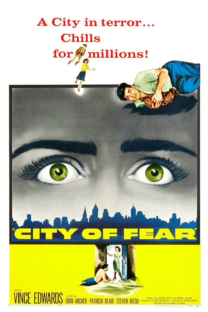 City Of Fear movie posters at movie poster warehouse movieposter.com.