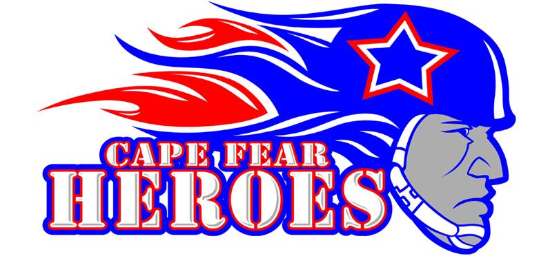 Cape Fear Heroes vs. Cap City Bulls.