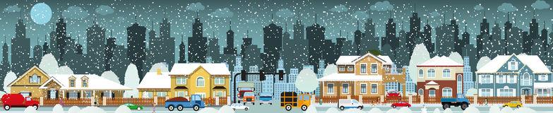 City Winter Clip Art.