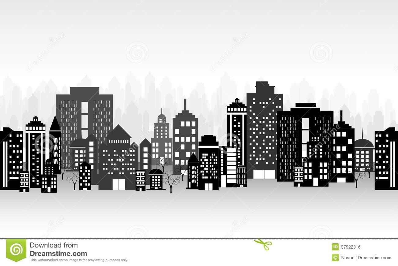 City Landscape Clipart.