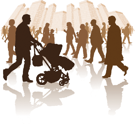 City Life Clipart Silhouette Transparent Clipground
