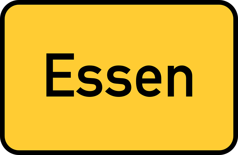Free vector graphic: Essen, Town Sign, City Limits Sign.