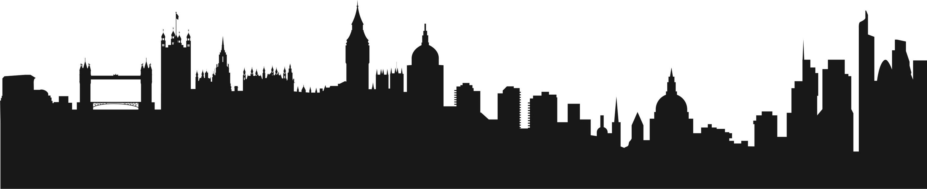 London City Clipart For Walls.