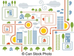 City map Stock Illustration Images. 88,595 City map illustrations.