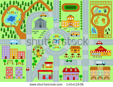 City map clipart 11 » Clipart Station.