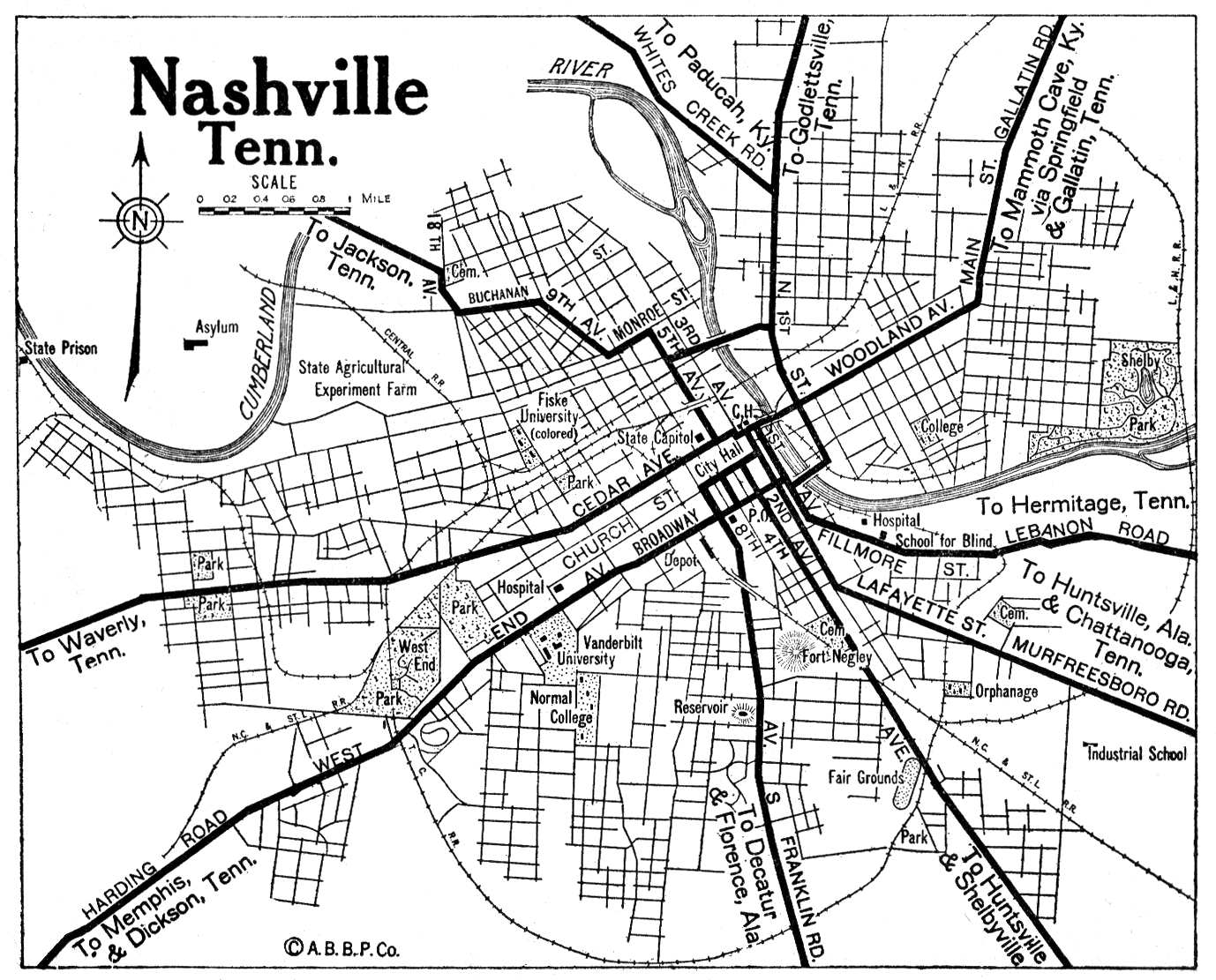 Nashville Map ~ Usa Map Guide 2016.