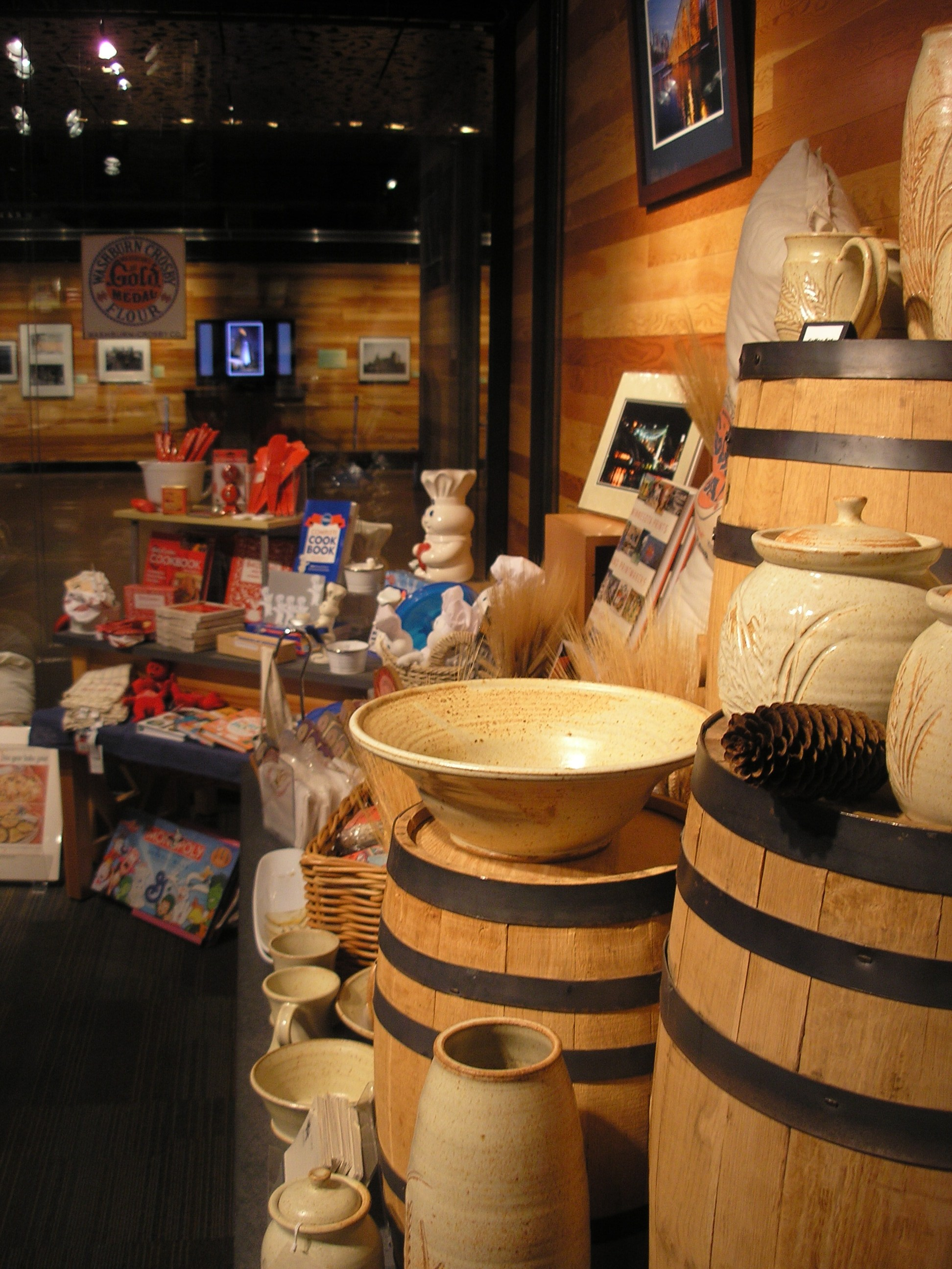 Museum Store.