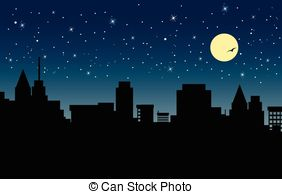 Starry city night Illustrations and Clipart. 252 Starry city night.