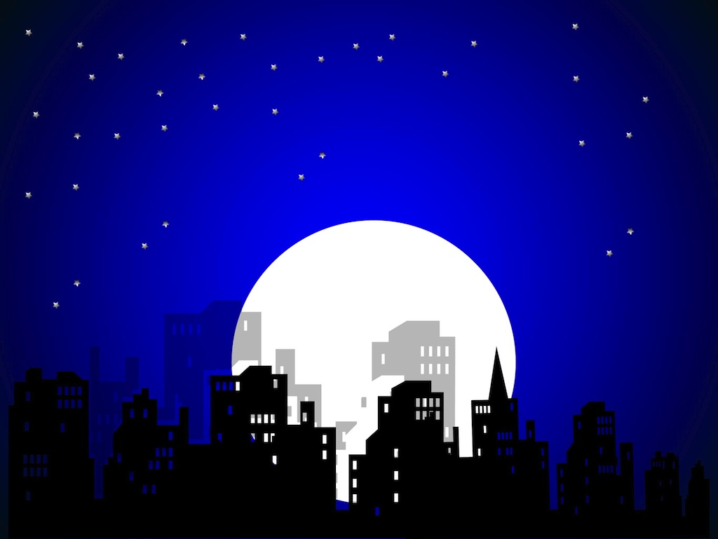 City night clipart - Clipground