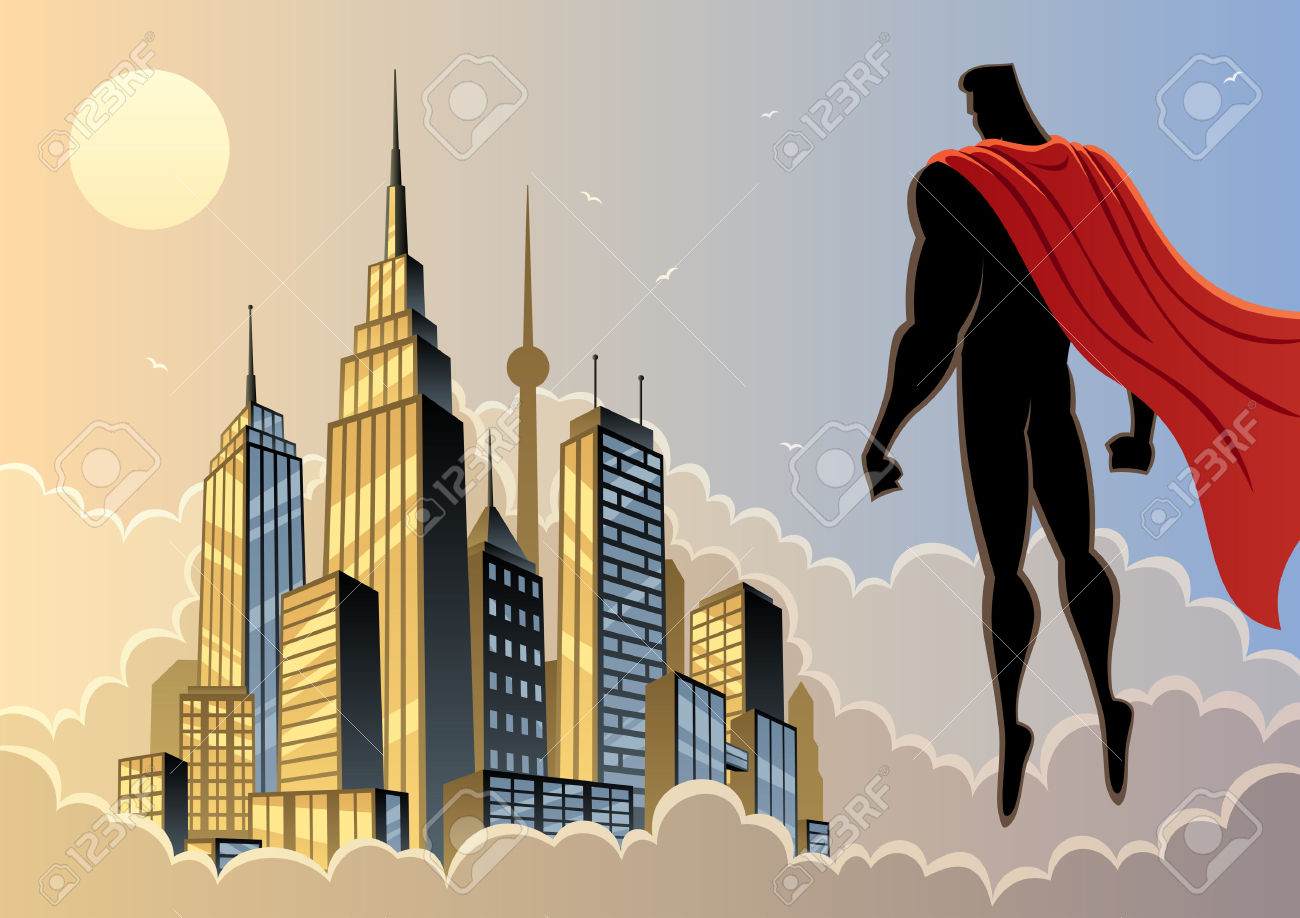 City Of Heroes Clipart.
