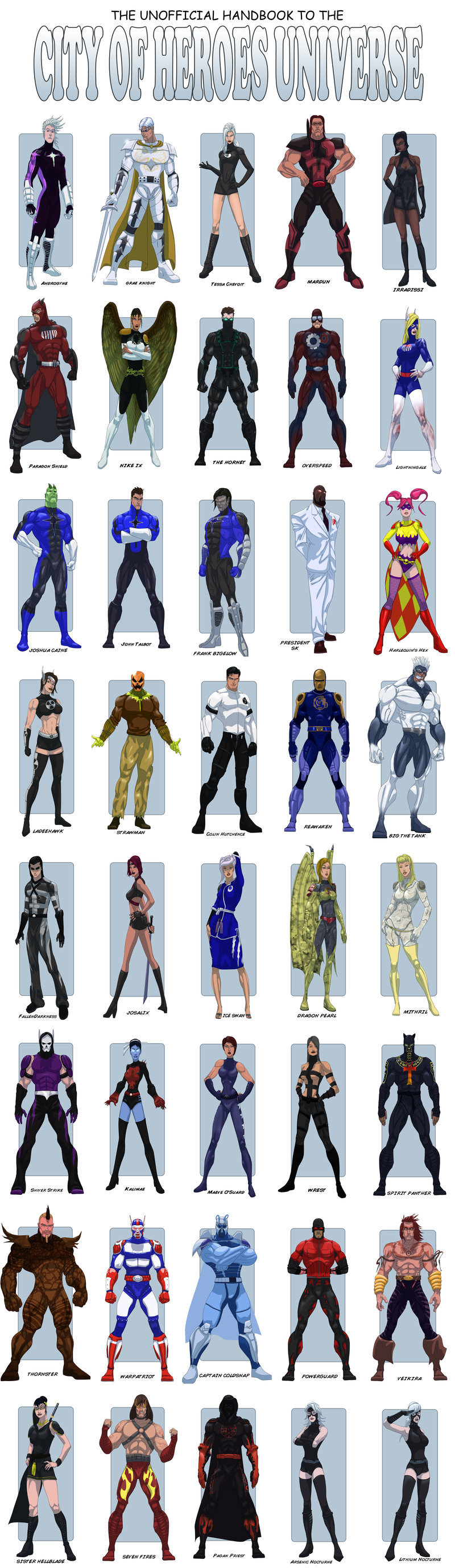 City Of Heroes Character favourites by Toeby on DeviantArt.