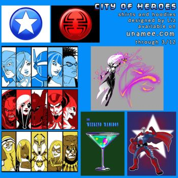 City of Heroes by syrusbLiz on DeviantArt.