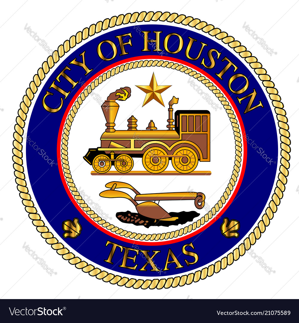 Houston city seal.