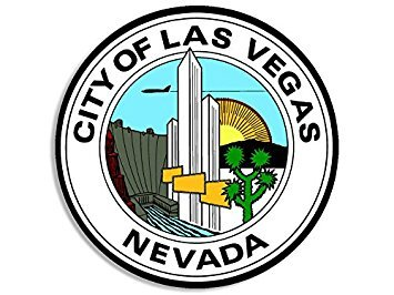 Amazon.com: MAGNET City of Las Vegas Nevada Seal Magnet.