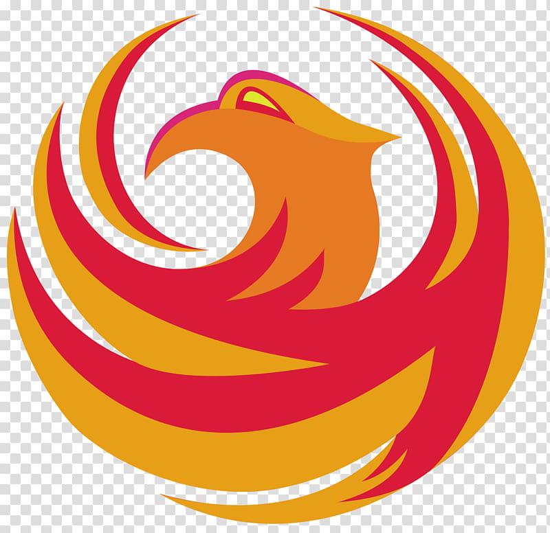 City of Phoenix logo Philomeena edition, red and orange logo.
