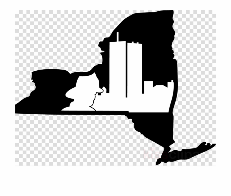 New York State Outline Clipart New York City Texas.