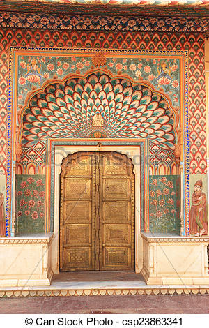 Stock Photo of City Palace, Jaipur, rajasthan, india.