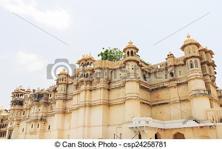 Pictures of city palace udaipur rajasthan india.