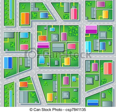 Seamless suburb plan.