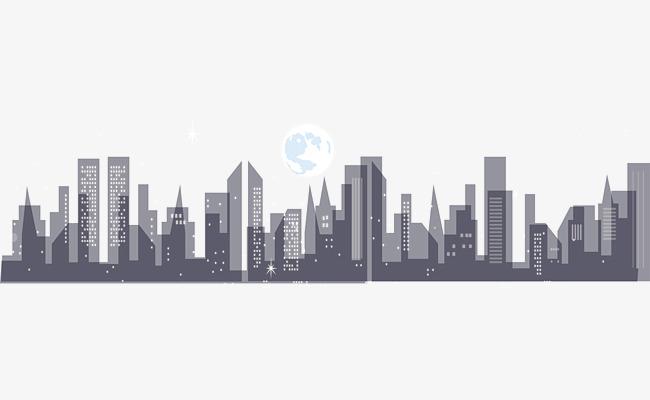 Night City Building Vector, Vector, Vector Architecture, Vector City.