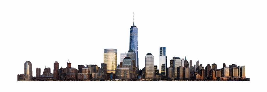 Manhattan Skyline Png.