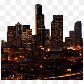 Seattle City Skyline.