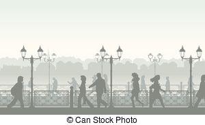Promenade Illustrations and Clip Art. 609 Promenade royalty free.