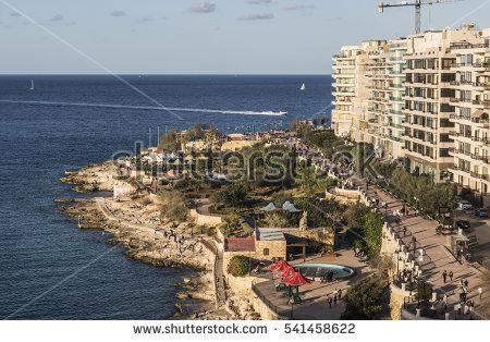 Promenade Sea Stock Images, Royalty.