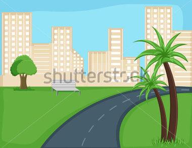 City Road Clipart.