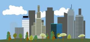 Cityscape Clip Art at Clker.com.