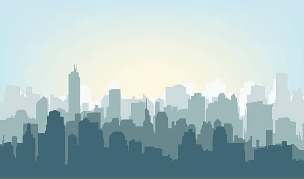 Best Cityscape Illustrations, Royalty.