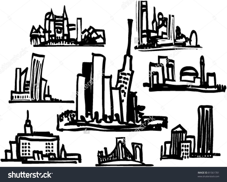Cityscape Clipart.