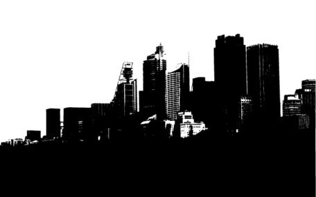 Cityscape Clip Art, Vector Cityscape.