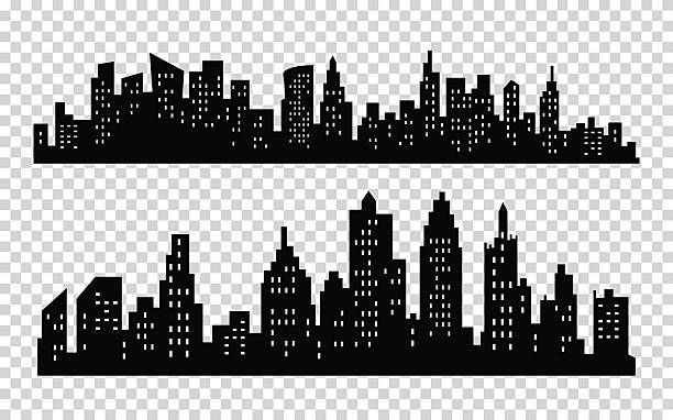 Best City Silhouettes Illustrations, Royalty.