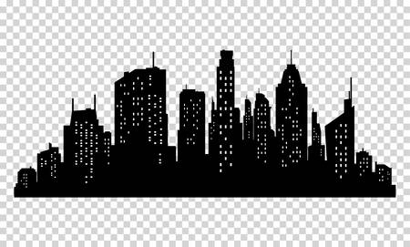 137,050 City Silhouette Stock Vector Illustration And Royalty Free.