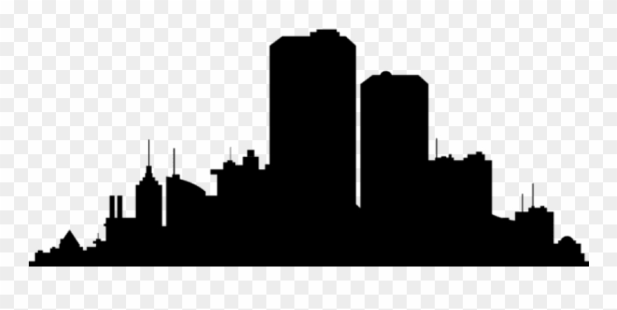 Free Png City Scape Silhouette Png Png.