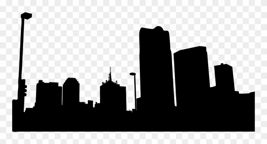 Skyline New York City Silhouette Computer Icons.
