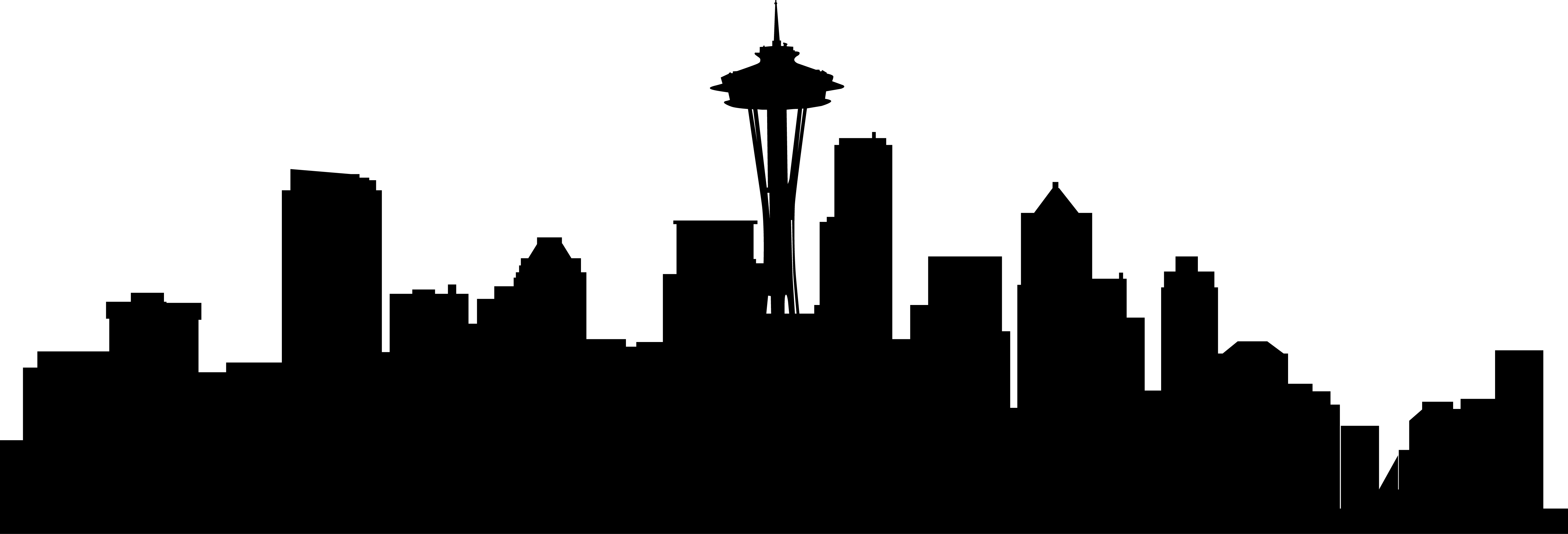 City Skyline Silhouette Vector at GetDrawings.com.