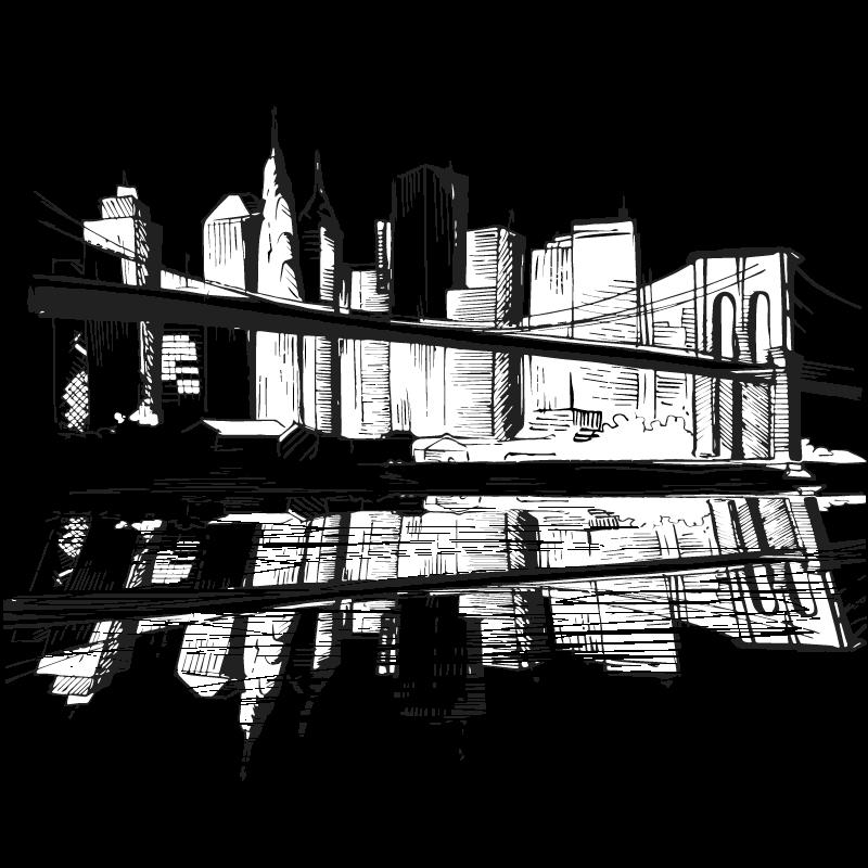 Mr. Locks Security Systems New York City Digital art Drawing.