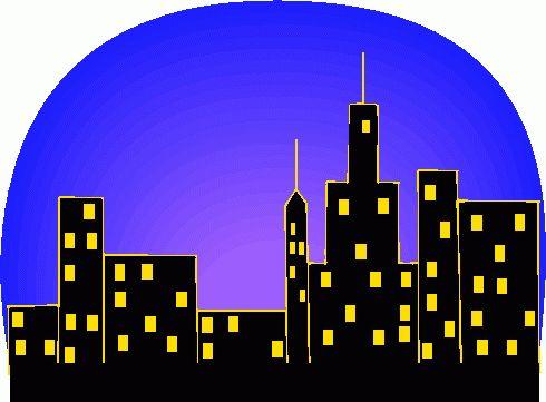 City Skyline Clip Art rf skyline clipart.