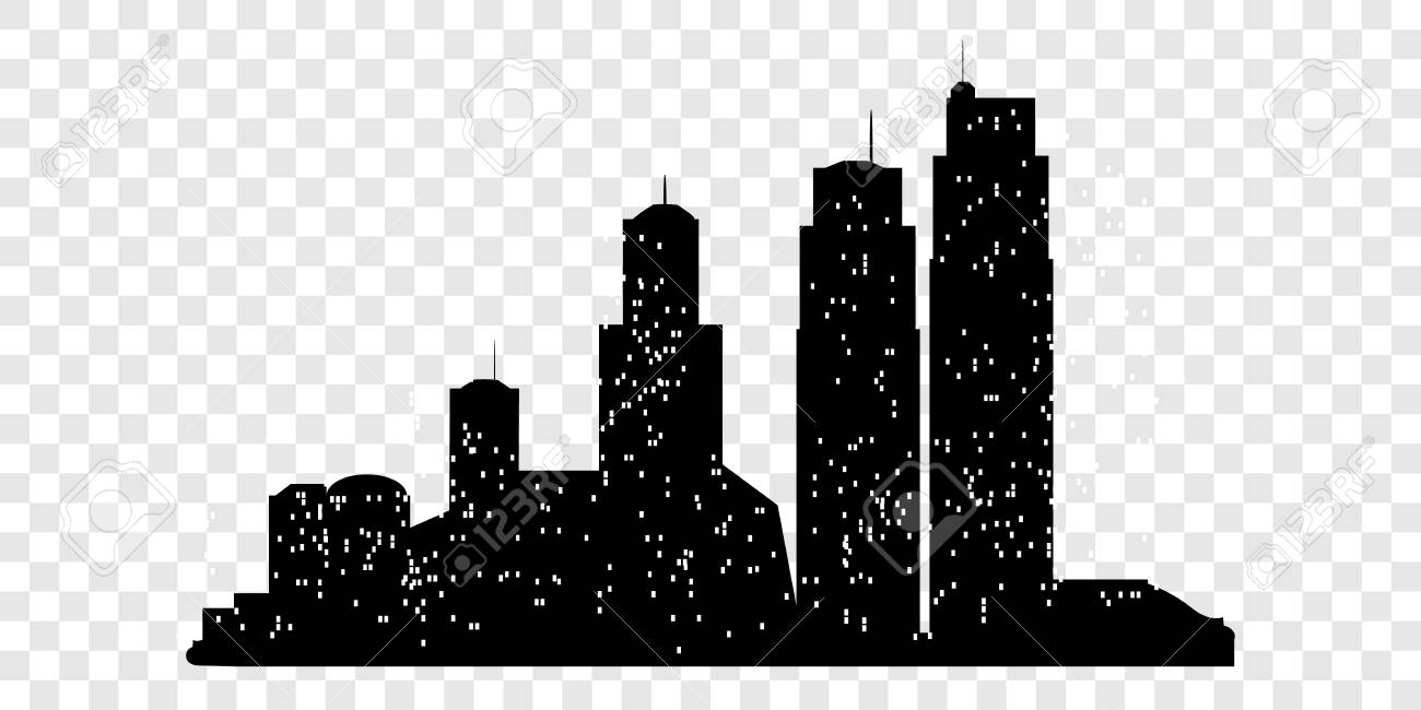 City Silhouette Transparent & Free City Silhouette.