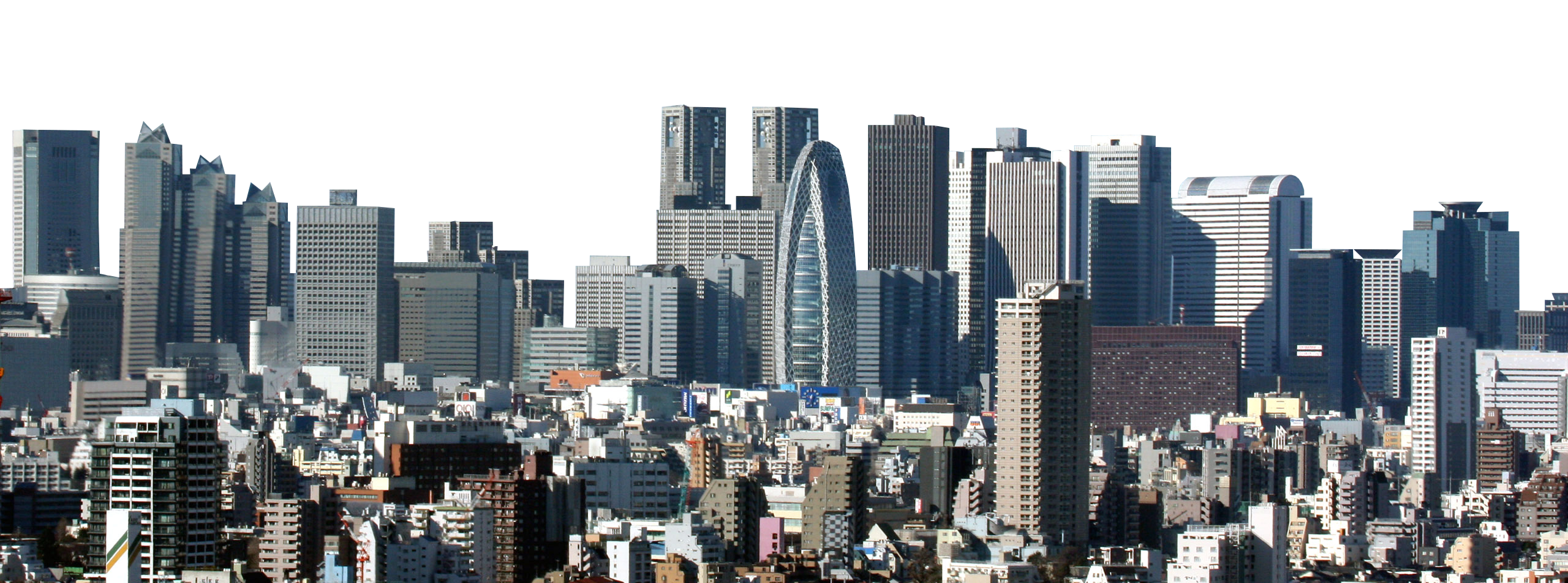 City Skyline PNG Image.