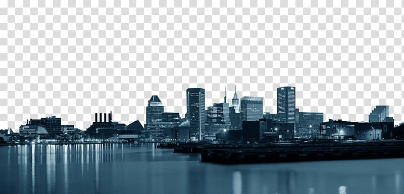 Cityscape , Silhouette City Skyline, City Silhouette transparent.